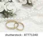 wedding decor | Shutterstock . vector #87771340