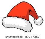santa's hat | Shutterstock . vector #87777367