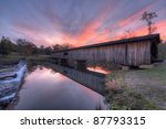 Watson Mill Covered Bridge In...