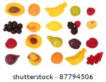 fruit candy isolated on white | Shutterstock . vector #87794506