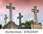 Crosses In The Catholic...