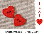 Extreme Closeup Of Tiny Heart...