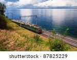 Train On Trans Baikal Railway ...