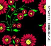 elegance seamless color pattern ... | Shutterstock .eps vector #87829108