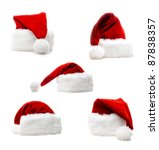 high quality santa claus five... | Shutterstock . vector #87838357