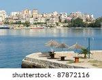 Waterfront Of Saranda  One Of...