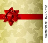 christmas background made of... | Shutterstock .eps vector #87877492