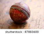 Vintage Antique Cricket Ball O...