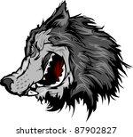 animal,cartoon,dog,face,growl,head,high school,illustration,image,lobo,lobos,mascot,predator,school,sport