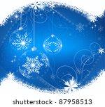 christmas background   Shutterstock .eps vector #87958513