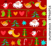christmas background. can be... | Shutterstock .eps vector #87966916