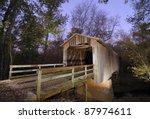 Howards Covered Bridge In...