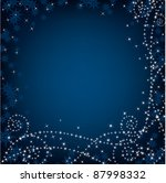 abstract christmas background ... | Shutterstock .eps vector #87998332