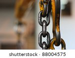 Crane Chain And Hook With...