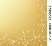 gold christmas background with... | Shutterstock .eps vector #88006813