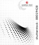 dot pattern halftone background | Shutterstock .eps vector #88019428