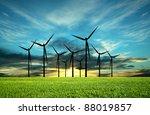 eco energy  conceptual image | Shutterstock . vector #88019857