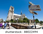Guidepost And Notre Dame De...