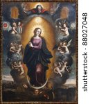 Painting Of Our Lady Immaculat...
