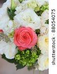 wedding bouquet at a wedding   Shutterstock . vector #88054075