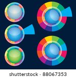 color web button