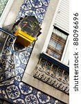 bird cage on a wall. | Shutterstock . vector #88096696