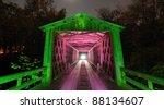 Historic Wooden Covered Bridge...