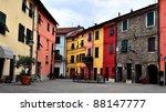 glimpse at brugnato  la spezia  ... | Shutterstock . vector #88147777