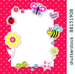 Baby Girl Card With Scrapbook...