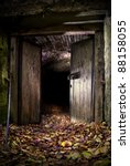 Dark Cave Entrance