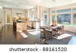 kitchen and dining room... | Shutterstock . vector #88161520