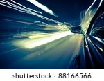 night traffic shoot from the... | Shutterstock . vector #88166566