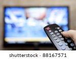 television remote control... | Shutterstock . vector #88167571