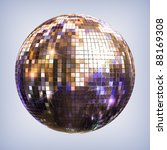 Disco Ball   Isolated With...
