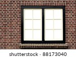 Brick Wall With Window  View...
