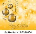 elegant classic christmas... | Shutterstock .eps vector #88184434