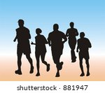 endurance competition | Shutterstock .eps vector #881947