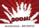bang illustration in comic style   Shutterstock .eps vector #88198954
