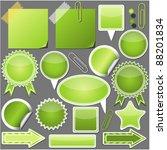 Set Of Green Elements
