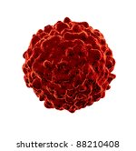 single cancer cell spreading... | Shutterstock . vector #88210408