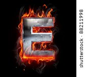 hot metal letter | Shutterstock . vector #88211998