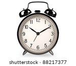 classic clock on white  3d... | Shutterstock . vector #88217377