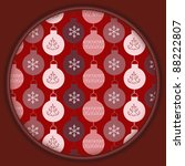 christmas gift box with... | Shutterstock . vector #88222807