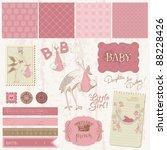 scrapbook vintage design...   Shutterstock .eps vector #88228426