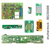 printed circuit boards of... | Shutterstock . vector #88230688
