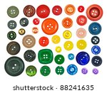 collection of various buttons... | Shutterstock . vector #88241635