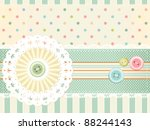 Vector Background In Shabby...