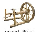 Old Manual Wooden Spinning...