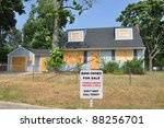 bank owned foreclosure for sale ... | Shutterstock . vector #88256701
