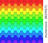 rainbow tiled background | Shutterstock . vector #88259671